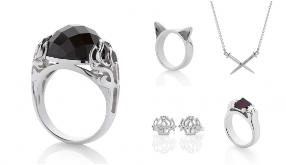 Some pieces from the latest Love Cats collection.